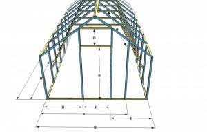 строим теплицу из поликарбоната своими руками