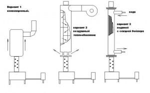 Схема печи на обработке