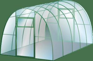 Современная и удобная теплица из поликарбоната
