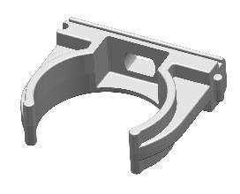 Держатель для труб, который можно использовать для крепления пленки к каркасу