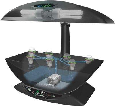 АэроГарден – высокотехнологичная домашняя мини теплица