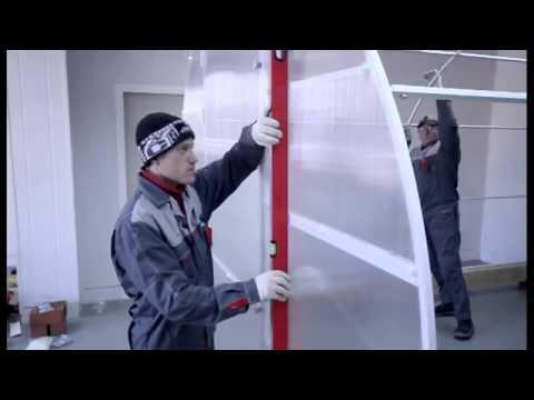 Сборка и установка теплицы