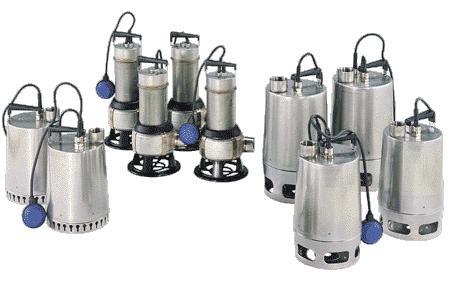 Дренажный насос GRUNDFOS широко применяется для дренажа канализационных систем
