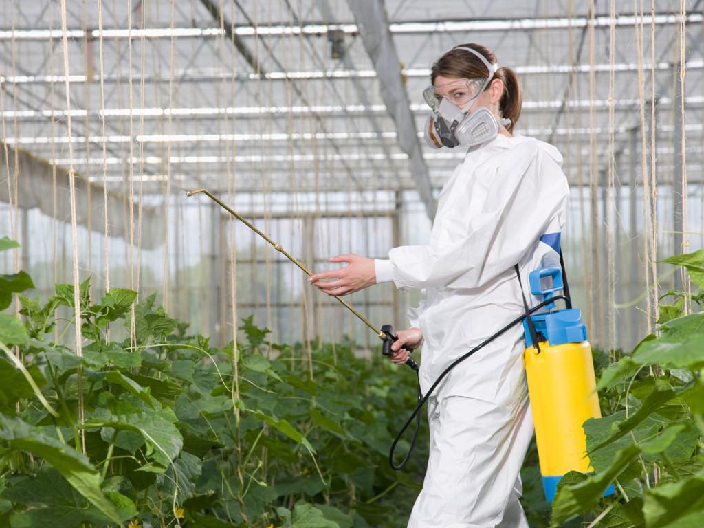 Гербицид это вещество, убивающие растения.