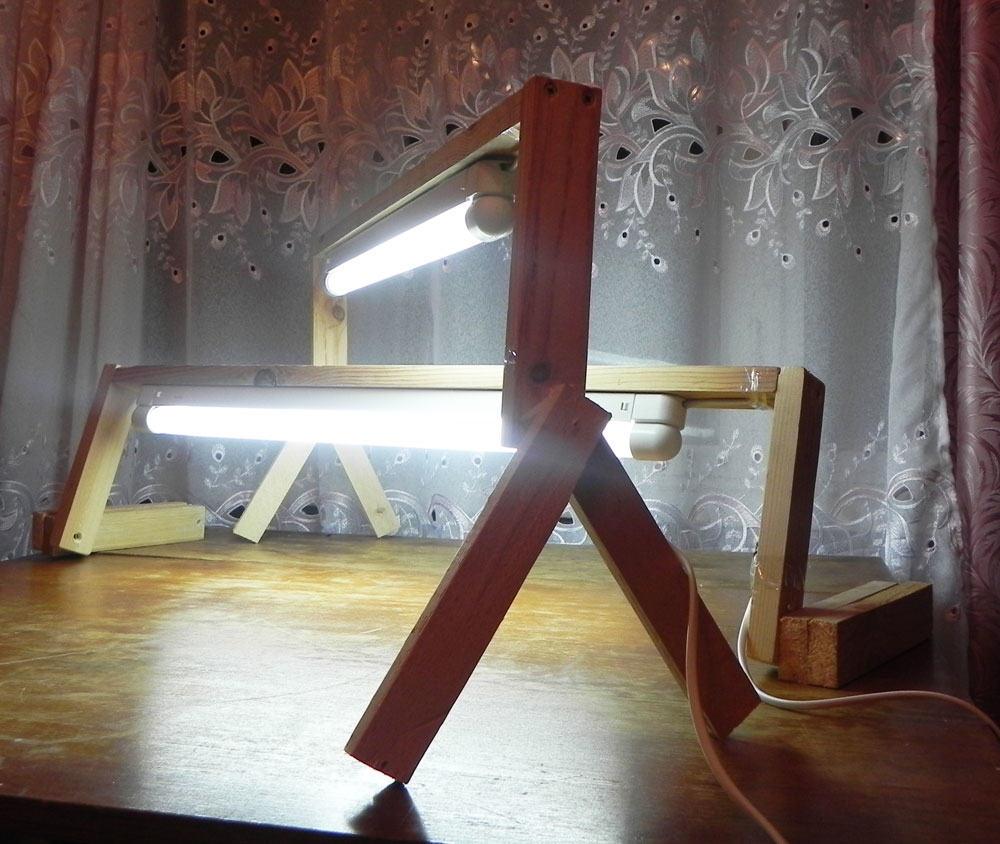 Опоры для ламп дневного света, с возможностью регулировать высоту
