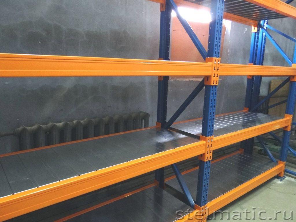 Промышленный металлический стеллаж