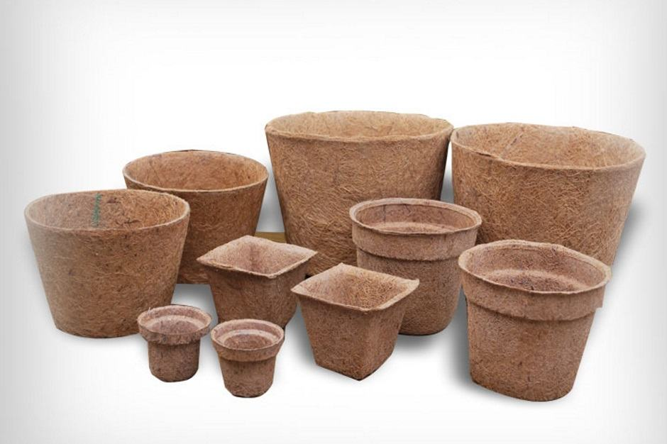 Торфяные горшочки для растений