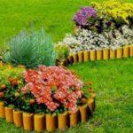 Используется для посадки растений в клумбах