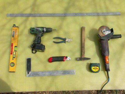 Инструменты для сборки каркаса