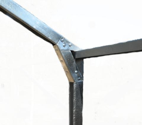 Крепление элемента жесткости для стропила