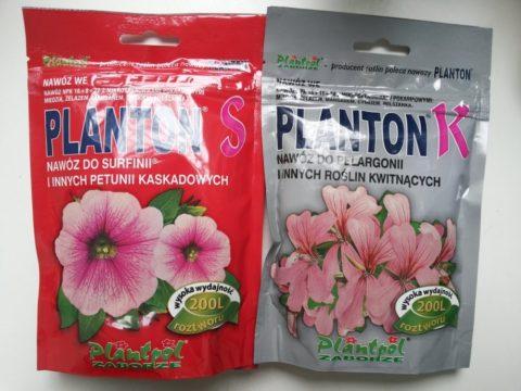 Специальные удобрения для петуний и пеларгоний