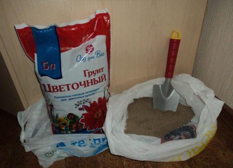 Компоненты почвосмеси для проращивания