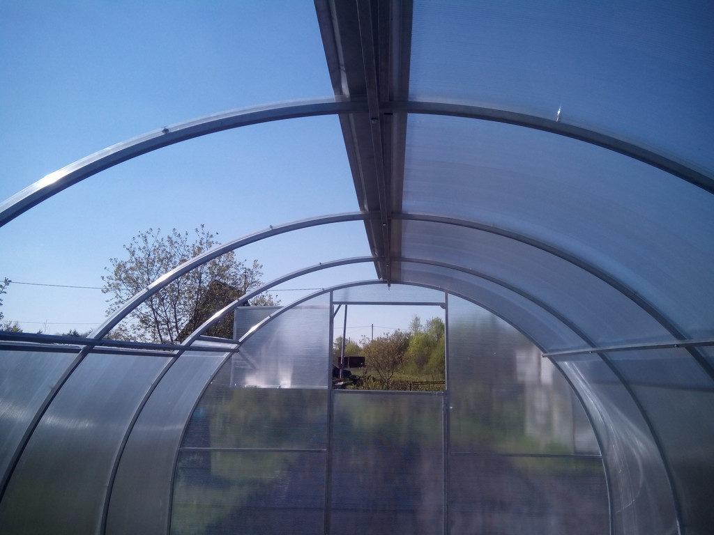 Раздвижная крыша для теплицы своими руками