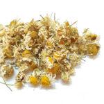Сушеные цветки ромашки