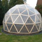 Теплица в форме купола